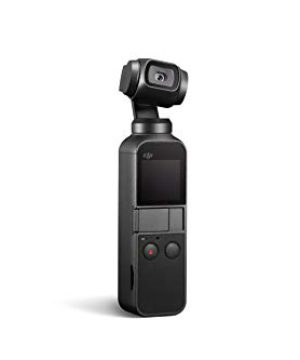 """DJI Osmo Pocket – Handheld 3-Axis Gimbal Stabilizer with integrated Camera 12 MP 1/2.3"""" CMOS 4K60 Video, for YouTube, TikTok, Video Vlog, Streamlabs, Attachable to Smartphone, Android, iPhone, Black"""